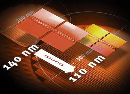 Infineon hat die Serienproduktion von DRAMs mit der fortschrittlichen 0,11-µm-Technologie gestartet. Muster von hochintegrierten 256-Mbit-DRAMs, die mit dem 0,11-µm-Prozess gefertigt werden, sind bereits erfolgreich von Intel validiert und auch an strategische Kunden ausgeliefert.